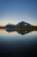 Sunset at Vermilion Lakes (michael__williamson) Tags: alberta banff rockymountains vermilionlakes