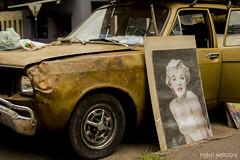 Marilyn y el Dodge (Pablo Arrigoni) Tags: auto santa old argentina argentine car marilyn canon outside foto picture monroe rosario dodge chrysler viejo 1500 f 18135 70d eos70d