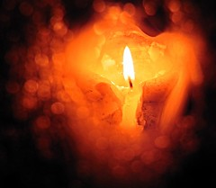 ...dream light... (carbumba) Tags: orange fire candle flame wax candlelight