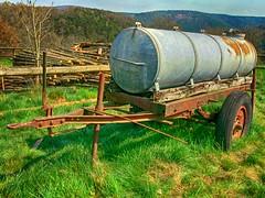 Old Farm (baer99) Tags: wood metal germany lumix farm rusty rost holz metall hdr bauernhof pfalz wagen dmcfz30