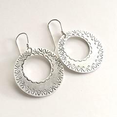 Stamped earrings
