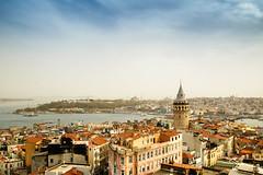 Galata Tower (Tevfik Teo) Tags: tower istanbul beyoglu galata karakoy karaky kule beyolu kulesi