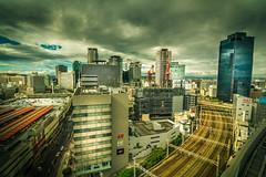 Umeda Hep Five - Osaka (afrigole) Tags: world city travel summer eye wheel japan skyscraper mall nikon asia tokina   osaka    umeda  hepfive    d7100 tokina1116