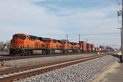 BNSF 6851 (CC 8039) Tags: minnesota university minneapolis trains junction bnsf ac44cw es44ac