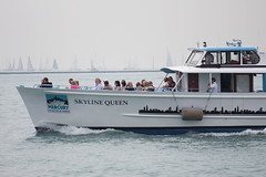 skyline queen. july 2015 (timp37) Tags: summer lake chicago skyline race pier boat illinois michigan navy july queen mackinac 2015