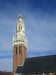 Haarlem Bakenesserkerk toren en schip (Arthur-A) Tags: church haarlem netherlands nederland kirche kerk eglise protestant