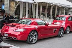 Hot in red (Alae El bouhi Photo) Tags: mercedes benz sls amg brabus hamann g65 g63 widstar