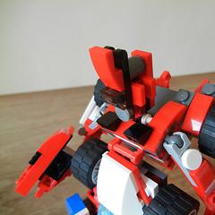 DSCN6331 (alfa145q_lego) Tags: robot lego mecha rebuild alternate 31034 31033 31032 legocreator vehicletransporter redcreatures futureflyers