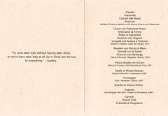 Next Sicily KT Menu (Edsel L) Tags: chicago dave menu restaurant us illinois unitedstates grant next sicily tasting tastingmenu beran degustation achatz grantachatz nextrestaurant daveberan