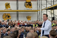 PM visit to Caterpillar factory, Peterborough (The Prime Minister's Office) Tags: uk london caterpillar pm economy primeminister downingstreet 10downingstreet primeministerdavidcameron pmdirect georginacoupe