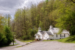Where Joy Met Sorrow (Denise @ New Mercies I See) Tags: building history church outdoors spring mine may westvirginia coal appalachia miners sago 2016 upshurcounty onethousandgifts