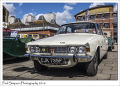 Rover P9 3500 V8 (Paul Simpson Photography) Tags: white cars car rover iconic classiccars scunthorpe sunnyday p9 britishcar motorcar rover3500 photosof imageof photoof imagesof sonya77 paulsimpsonphotography april2016 roverpseries scunthorpecarshow