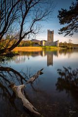 Ross Castle (kisko-Sonia) Tags: ireland sunset lake verde castle lago atardecer agua nikon sigma paisaje killarney nd puestadesol loch calma castillo hitech irlanda haida nd1000 nd30 d7100