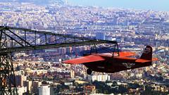 1928 (kevindalb) Tags: barcelona park old city plane spain view erasmus espana catalunya 1928 barcellona tibidabo barcelone spagna espagna catalogna 2016 catalonie