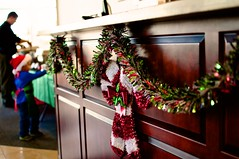 work isn't work when everyone's family (Krystina Prassos) Tags: christmas decorations party work aviation indoor raleigh rdu fbo