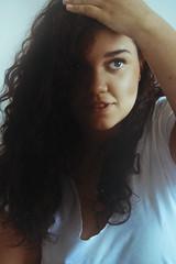 Venus (TheJennire) Tags: camera light portrait people luz face canon hair cores photography photo eyes colours foto young naturallight olhos colores teen ojos indie fotografia curlyhair camara cabelo pelo cabello 2013 tumblr