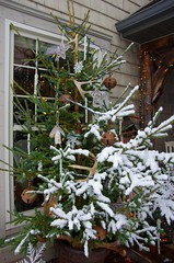 A wet snowfall (kimshand) Tags: christmas winter snow home december novascotia ns country decoration wentworth snowing snowfall countrylife wentworthvalley thisishome
