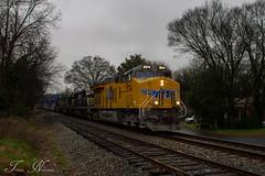 Q144 at Cartersville (travisnewman100) Tags: railroad atlanta up train ga georgia pacific ns union norfolk rr southern wa locomotive division ge freight csx subdivision cartersville emd intermodal sd60i sd50 sd75m et44c4
