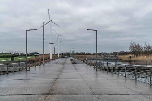 Wind Powered Public Park In Clongriffin Dublin [Father Collins Park]-110926