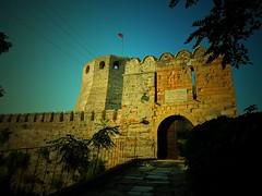 Bozcaada Castle (bilal gldoan) Tags: trees green castle castles landscapes outdoor trkiye sur bozcaada ladscape bayrak anakkale bur bilalgldogan bilalgldoan