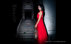 Lady with the Lamp (ANDE PHOTO) Tags: fashion haunted horror ghosts ghostly supernatural fashionstyle spookycreepy ghostspirits girlreddress ladywiththelamp girllamp andeimage girlwithlantern andeimages mysteryandfantasy slavcaboyadjieva