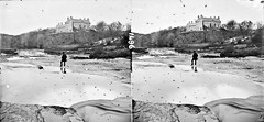 Down by the rocky pool! (National Library of Ireland on The Commons) Tags: hotel countyclare westwing ennistymon macnamara nationallibraryofireland ennistimon fallshotel lawrencecollection inisdomin stereographicnegatives jamessimonton frederickhollandmares thestereopairsphotographcollection johnfortunelawrence williammervynlawrence ennisimonhouse