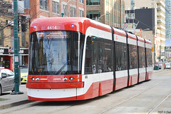 TTC Flexity Streetcar #4414 (SteveC123!) Tags: new toronto trolley ttc tram row outlook spadina streetcar 510 bombardier flexity