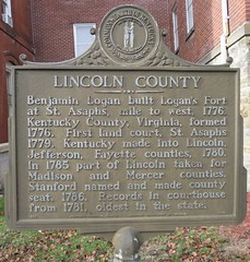 Lincoln County Marker (Stanford, Kentucky) (courthouselover) Tags: kentucky ky stanford lincolncounty kentuckyhistoricalmarkers courthouseextras
