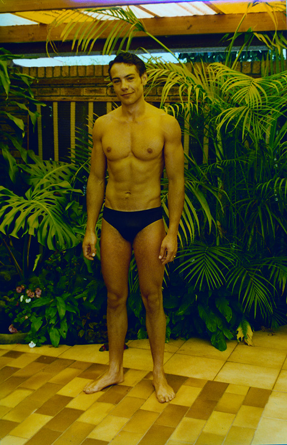 Speedo boy model