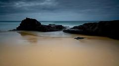 Playa del Aljibe de la Cueva, El Cotillo, Fuerteventura, Spain (Marc Arnoud Rogier van der Wiel) Tags: sea españa beach water clouds lava seaside spain sand waterfront outdoor shore vulcanic
