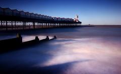 Herne Bay Pier (stevebodey) Tags: sea beach bay pier long exposure village 10 january stop nd groyne herne srb nd1000