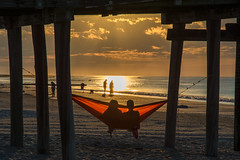 Beach Sunrise (PMillera4) Tags: beach sunrise dawn hammock oceancitynj oceancity beachsunrise
