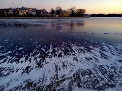 Ice (l.biryukova) Tags: winter lake ice russia kaliningrad     meizu  meizumx4