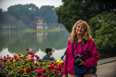 Charlotte by the lake (tatlmt) Tags: asia charlotte vietnam hanoi turtleisland hoankiemlake