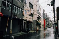 (yasu19_67) Tags: street film rain japan analog nikon cityscape osaka expiredfilm filmphotography konicaminoltacenturia200 nikonl35ad2 filmism