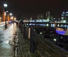 Albert Dock at night (12 of 19) (andyyoung37) Tags: uk longexposure england water night liverpool reflections boats cityscape unitedkingdom gb albertdock merseyside
