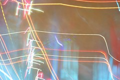 Luz de nen (steffaleon) Tags: blue red white color verde green blanco colors yellow azul luces rojo neon colores boom desenfoque brillante nen amarrillo brillant