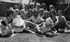 Steven Spielberg and the Club Obi Wan dancers (Tom Simpson) Tags: film vintage behindthescenes indianajones stevenspielberg templeofdoom juliekirk samanthahughes thetempleofdoom louisedalgleish gaynormartine suehadleigh marisacampbell debbieastell carolbebbington deirdrelaird lisamulidore ninamcmahon sharonboone andreachance juliamarstand