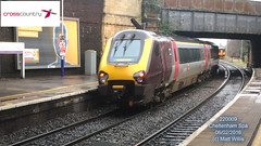 CROSSCOUNTRY VOYAGER 220009 0912 GLASGOW CENTRAL AT CHELTENHAM SPA 06022016 (MATT WILLIS VIDEO PRODUCTIONS) Tags: glasgow central crosscountry voyager spa cheltenham 0912 at 220009 06022016