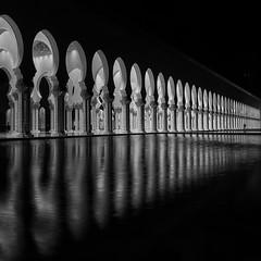 Arches, Columns and Ripple (marco ferrarin) Tags: reflection architecture arch ripple islam uae mosque symmetry abudhabi column sheikhzayedmosque sheikhzayedgrandmosque