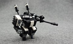 "AN602 ""Grand Ivan"" -Sniper Loadout (Deltassius) Tags: mobile robot war lego space military sniper frame scifi zero mecha mech mfz mf0"
