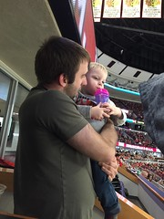 """Paul with Matt Dominski at the Blackhawks Game • <a style=""""font-size:0.8em;"""" href=""""http://www.flickr.com/photos/109120354@N07/24824948695/"""" target=""""_blank"""">View on Flickr</a>"""
