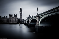 The Ghost of Westminster (Through_Urizen) Tags: uk longexposure greatbritain travel bridge light england blackandwhite cloud blur building london classic tourism water lamp monochrome architecture canon river outside outdoors person grey mood moody cityscape arch shadows darkness britain outdoor streetlamp united ghost gothic deep housesofparliament atmosphere kingdom bigben pedestrian places landmark tourist structure spooky human figure ripples macabre miscellaneous ghostly riverthames passerby span spectre greysky westminsterbridge wraith touristic shadowy whiteandblack greyclouds famousplaces smoothwater elizabethtower sigma1022mm cloudblur citiestowns canon70d