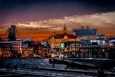 Old Montreal Dusk 5 (edispicsoriginal) Tags: city sunset night port docks river lights dusk montreal oldmontreal oldport