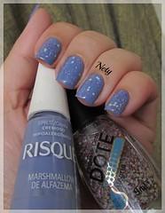 Marshmallow de Alfazema (Risqu) + Alegria (Dote) (Nety_) Tags: glitter alegria dote risqu marshmallowdealfazema
