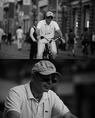 [La Mia Citt][Pedala] (Urca) Tags: portrait blackandwhite bw bike bicycle italia milano bn ciclista biancoenero mir bicicletta 2015 pedalare dittico nikondigitale ritrattostradale 798141