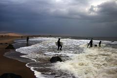 Surfers, Feb 2008, Sandy Hook (Nesster) Tags: jerseyshore