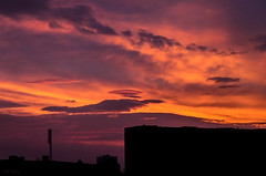 Amazing sunrise <3 (renkata23) Tags: morning sunset sky cloud color colour colors silhouette skyline clouds sunrise buildings landscape amazing nikon colorful colours cloudy sofia outdoor dusk cloudporn beautifulmorning beautifulmoment catcy d7000 amazingbeautiful nikonbulgaria