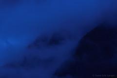 BLUE MOOD yfjellet Mosjen Norway (Svein Erik Larsen) Tags: blue mountain norway fog azul night norge cloudy norwegen noruega dis natt norvegia fjell tke mosjen bl noreg bluemood yfjellet