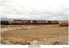 UP 8004, 7768 & 6801 (Robert W. Thomson) Tags: railroad up train montana diesel railway trains unionpacific locomotive trainengine ge silverbow gevo ac44cw ac4400 es44ac cw44ac c44ac ac4400cw c45accte es44 evolutionseries ac44 sixaxle c45ac